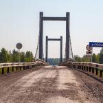 Новый мост через Сосьву разбирать не будут. Оборудование для Серовской ГРЭС выгрузят на временном причале