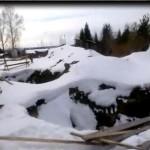 Скриншот с видео предоставленного Андреем Титовым