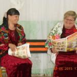 Вокальная группа Пасынковского Дома культуры провела в сосьвинских и серовских деревнях акцию