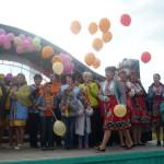 Церемония награждения участников праздника.