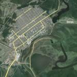 ЧП произошло недалеко на реке Сосьва возле деревни Мишина. Фото: скриншот сайта www.wikimapia.org.