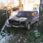 Повреждения машины депутата. Фото предоставлено Николаем Лукашем.