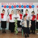 В Маслова прошел песенный фестиваль: