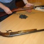 Полиция Серова изъяла 14 единиц оружия