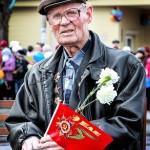 Лаптев Иван Михеевич. 9 мая 2013 г. Фото: предоставлено Л.Н. Сокирко.
