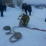 В Восточном прошли учения. Все фото предоставлены 6-м отрядом противопожарной службы.