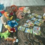 Жители Сосьвы в течение месяца приносили в клуб игрушки, книги, вещи и обувь для детей от 0 до 5 лет.