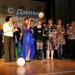 В Сосьве прошла концертная программа, посвященная Дню работника культуры.