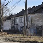 Сожженый магазин в Сосьве.