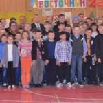 """Участники юбилейного шахматного фестиваля """"Восточный - 25""""."""