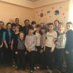 В Сосьве школьники встретились с ликвидаторами катастрофы на Чернобыльской АЭС