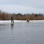 На реках Северного Урала встает лед