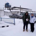 Общественные наблюдатели Андрей Клеймёнов и Ольга Вековшинина. Все фото: Алексей Соколов.