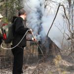 В Сосьве действует особый противопожарный режим