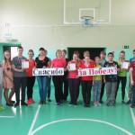 В Кошае прошла эстафета, посвященная Дню Победы. Все фото: Алена Телегина.