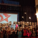 В Кошае отметили День Победы. Все фото: предоставлены Аленой Телегиной.