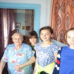 В Восточном школьники несли Вахту Памяти