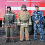 Пожарные сосьвинской колонии потушили пожар, предотвратив распространение огня на другие здания