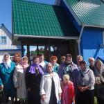 """Участники клуба """"Активный гражданин"""" перед визитом в Свято-Никольский храм. Все фото предоставлены Ларисой Греф."""
