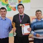 Призеры сосьвинского турнира по теннису.