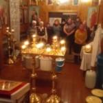 Крещенская праздничная служба в сосьвинском храме Святого Николая Чудотворца. Фото: отец Сергий (Михалев).