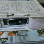 Мобильник ншли в сшитом уголовном деле. Все фото: пресс-служба ГУФСИН России по Свердловской области.