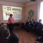 К 23 февраля в библиотеке имени Горького для учеников школы № 1 прошла познавательная игра. Все фото предоставлены библиотекой.