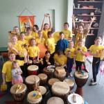 Ученики музыкальной школы из Восточного посетили музей-театр «Барабанный дом»..